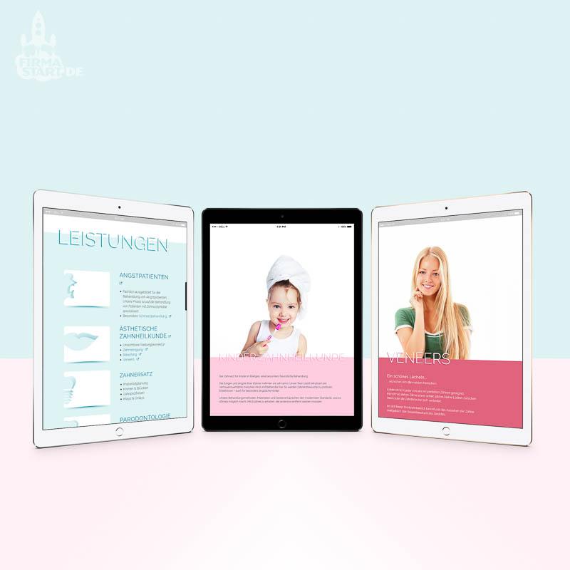 Zahnarztpraxis-Roetgen-Website-firmastart