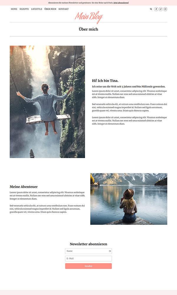 Firmastart Blog Website ueber mich