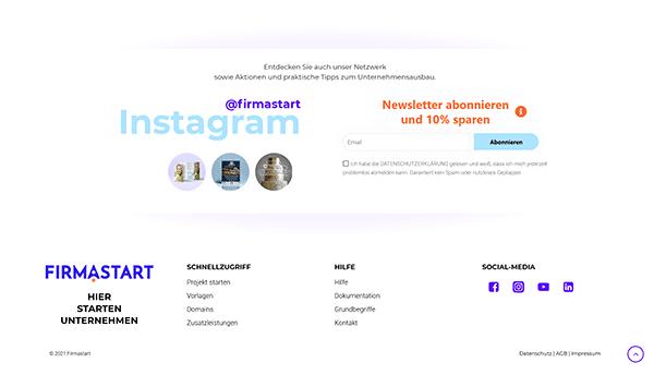Firmastart Social Link Icons